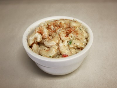 Fancy's homemade macaroni salad.